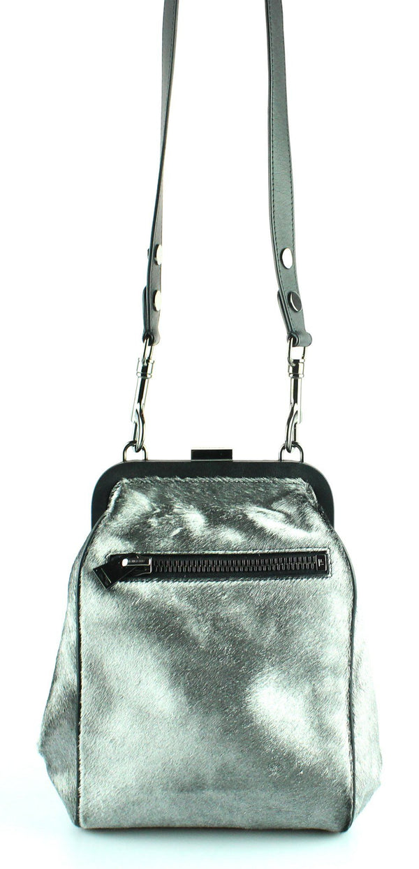 Tom Ford Dahlia Metallic Calf Hair Shoulder Bag (RRP €2000)