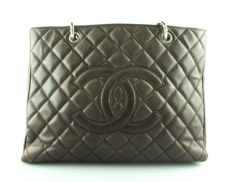 Chanel GST In Brown Caviar Leather SH 2008/09
