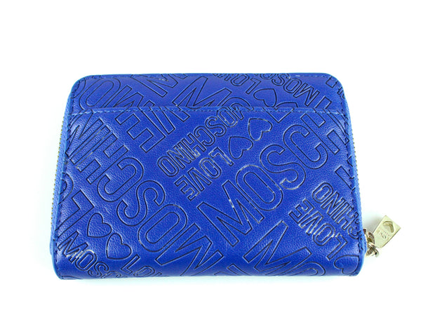 Love Moschino Blue Compact Purse