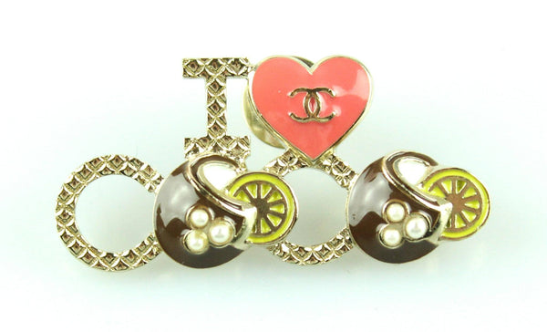 Chanel I Love Coco Pin/Brooch 2017