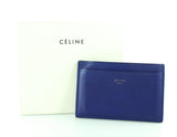 Celine Blue Soft Leather Card Case