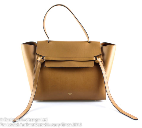 Celine Tan Belt Bag Large Old Model