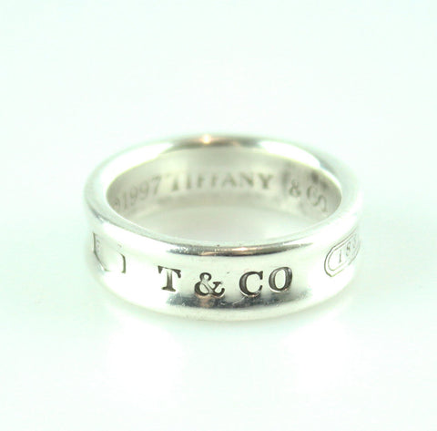 Tiffany & Co. 1837 Silver Band Ring