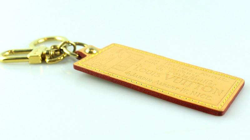 Louis Vuitton Luggage Tag Keyring CT1025