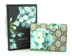 Gucci Blooms Card Case Blue Flower