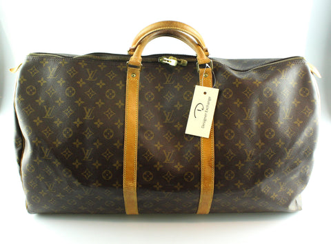 Louis Vuitton Vintage Keepall 60 Monogram SP1924