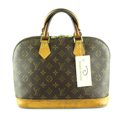 Louis Vuitton Vintage Monogram Alma PM FL0052