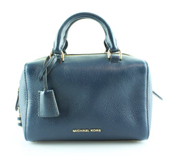 Michael Kors Kirby Small Navy Crossbody Bowler