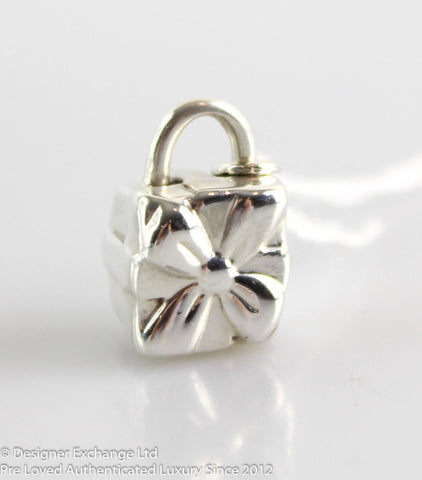 Tiffany Sterling Silver Gift Box Charm
