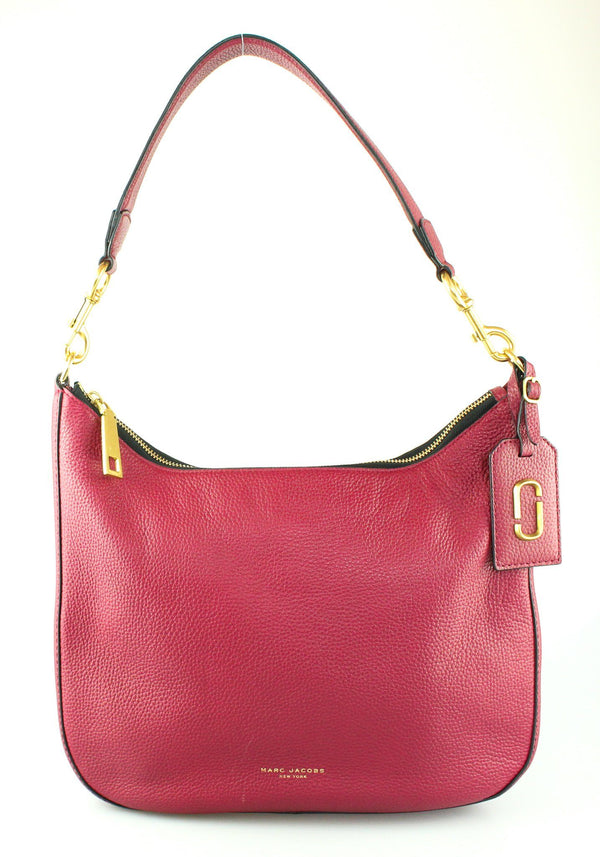 Marc Jacobs Deep Red Gotham Hobo GH