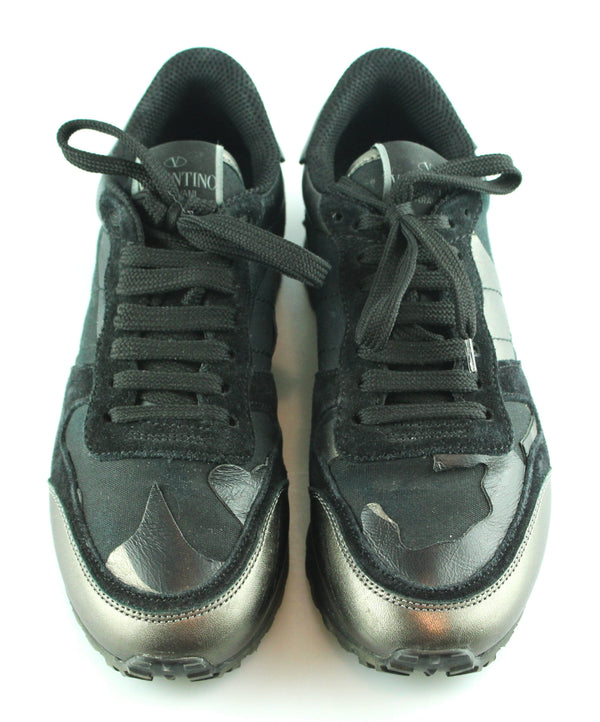 Valentino Camouflage Sneakers Black EUR 36 UK 3