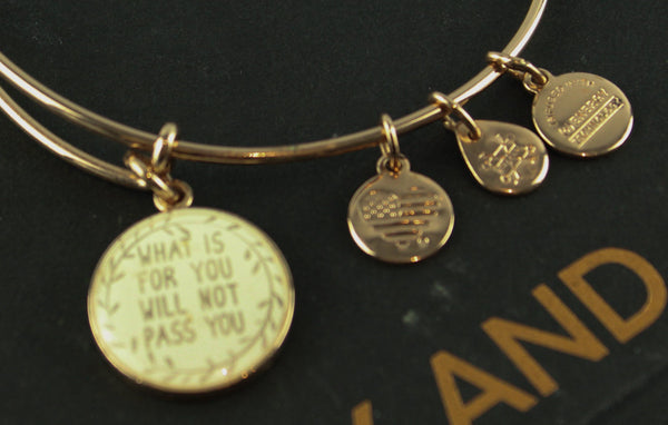 Alex And Ani Rose Gold What Is For You Bracelet