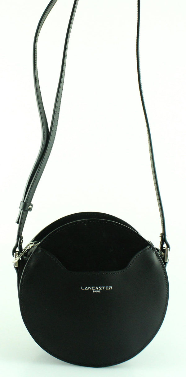 Lancaster Black Circle Bag Leather And Suede