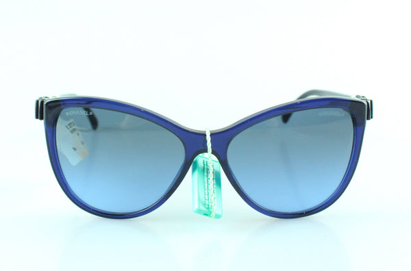 Chanel Ribbon Collection Blue/Black Ex Display Sunglasses