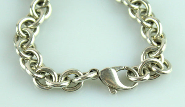 Tiffany And Co. RTT Silver Heart Bracelet
