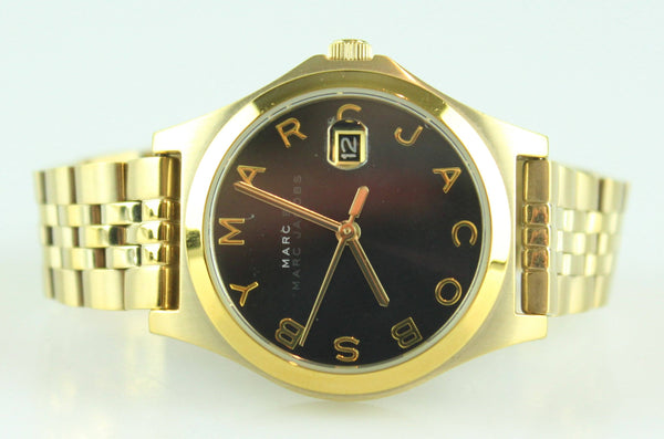 Marc By Marc Jacobs MBM3321 Slim Gold Tone Watch
