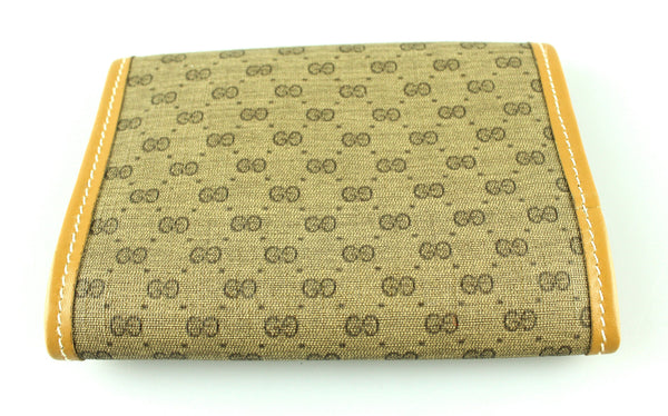 Gucci Vintage GG Jewellery Roll Wallet