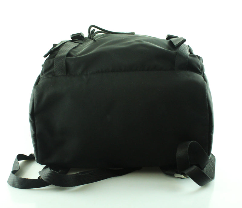 Prada Large Nylon Black Backpack