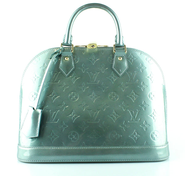 Louis Vuitton Alma PM In Givre Monogram Vernis Leather FL2111 RRP €1890