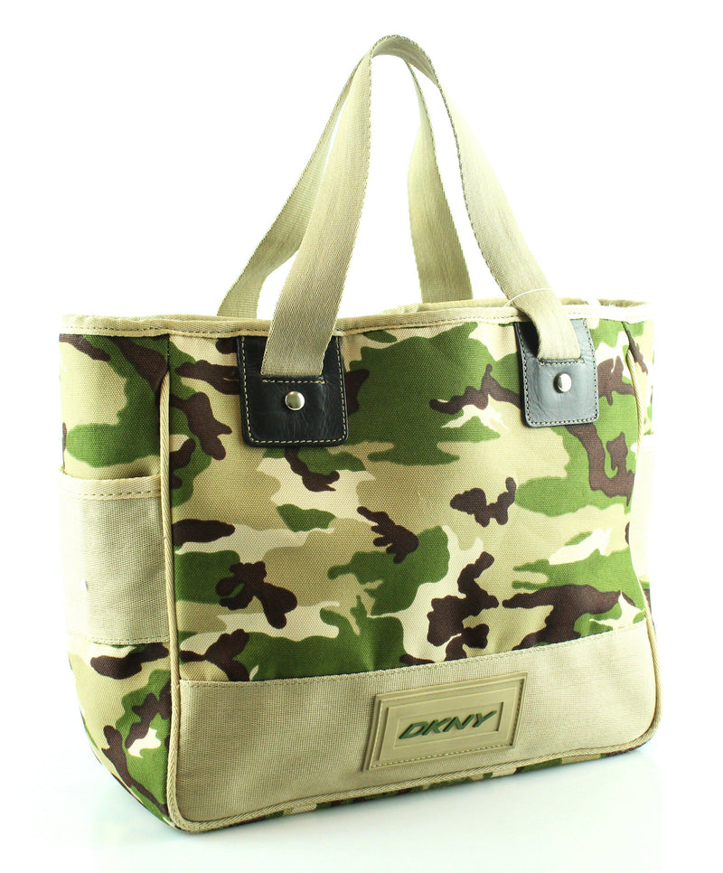 DKNY Camouflage Tote Canvas