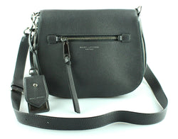 Marc Jacobs Anthracite Large Recruit Saddle Bag (2)