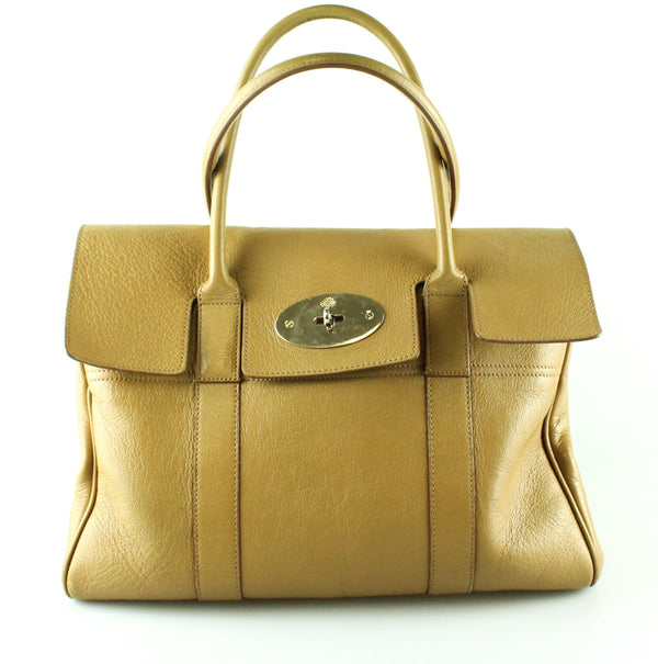 Mulberry Bayswater Glossy Goat Caramel Leather GH