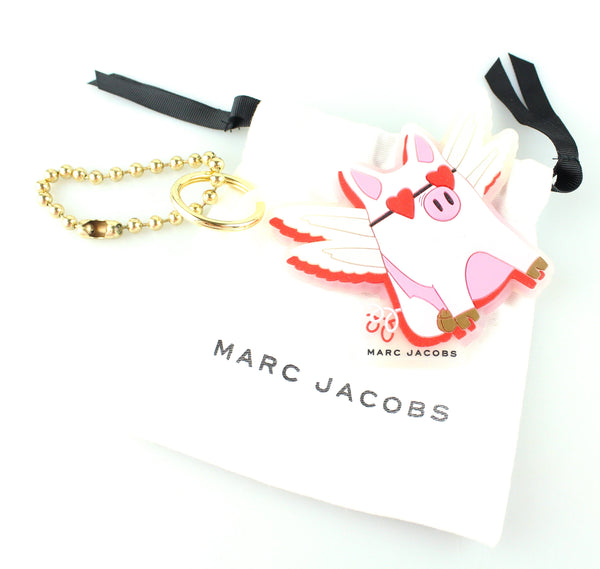 Marc Jacobs Flying Pig Rubber Charm