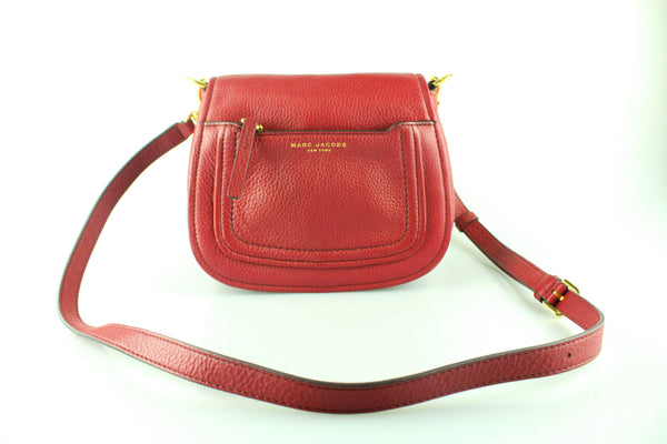 Marc Jacobs Empire City Mini Messenger Deep Red