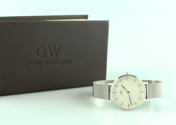 Daniel Wellington Classic Petite Stainless Steel Mesh Watch
