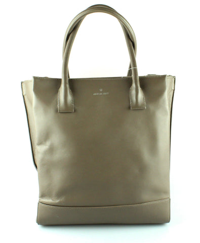 Mulberry Taupe North South Nappa Leather Arundel