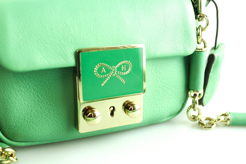 Anya Hindmarch Green Mini Crossbody
