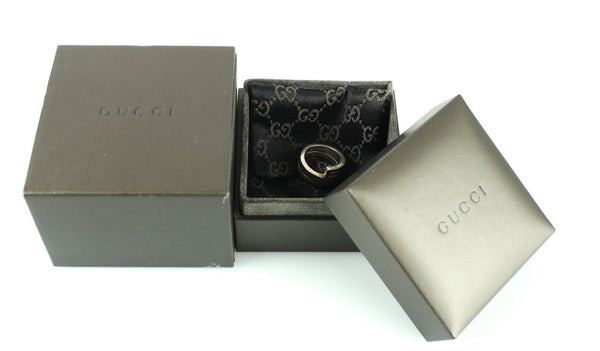 Gucci Twist Ring Sterling Silver M