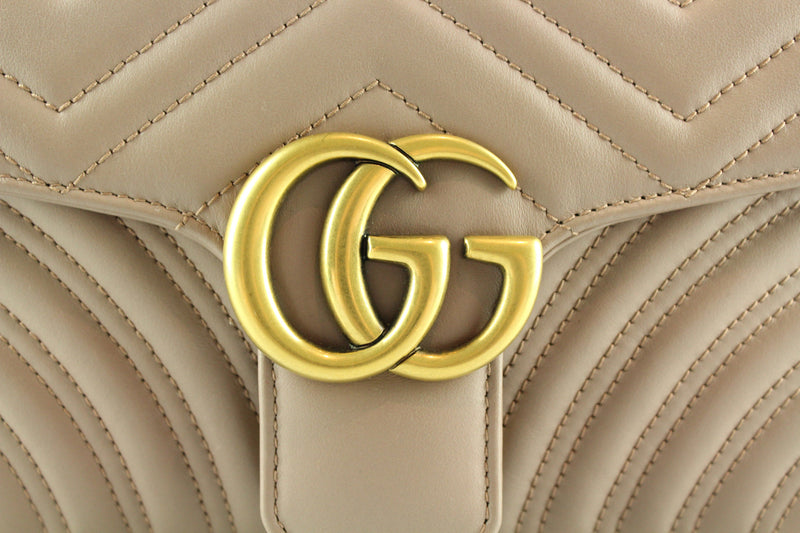 Gucci Marmont Small Dusty Pink Gh (RRP €1590)