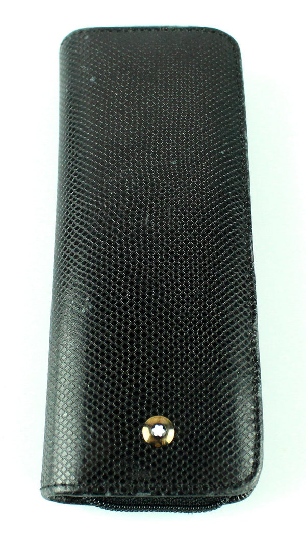 Montblanc Ball Point Pen and Leather Case