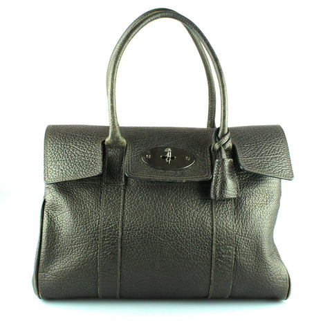 Mulberry Bayswater Off Grey Spongy Leather SH