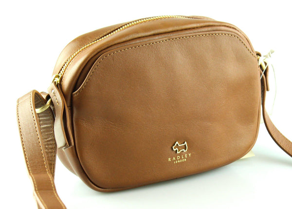 superior performance limited price classcic Radley Tan Leather Greyfriars Camera Bag