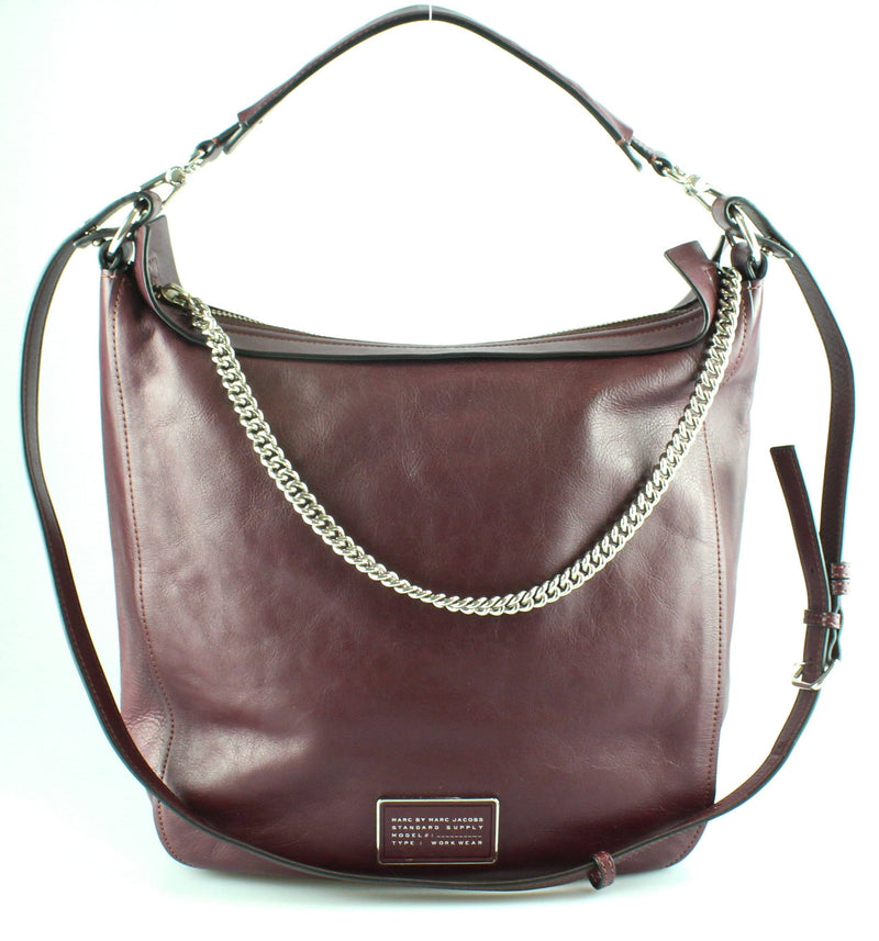 Marc By Marc Jacobs 'Ligero' Hobo Oxblood