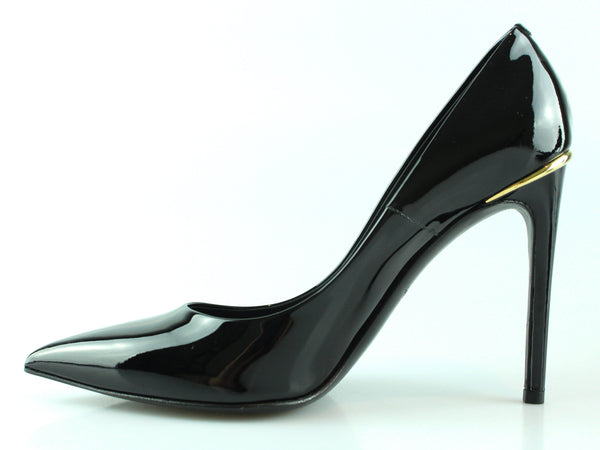 Louis Vuitton Black Patent Pointed Toe Heels EUR 39 UK 6