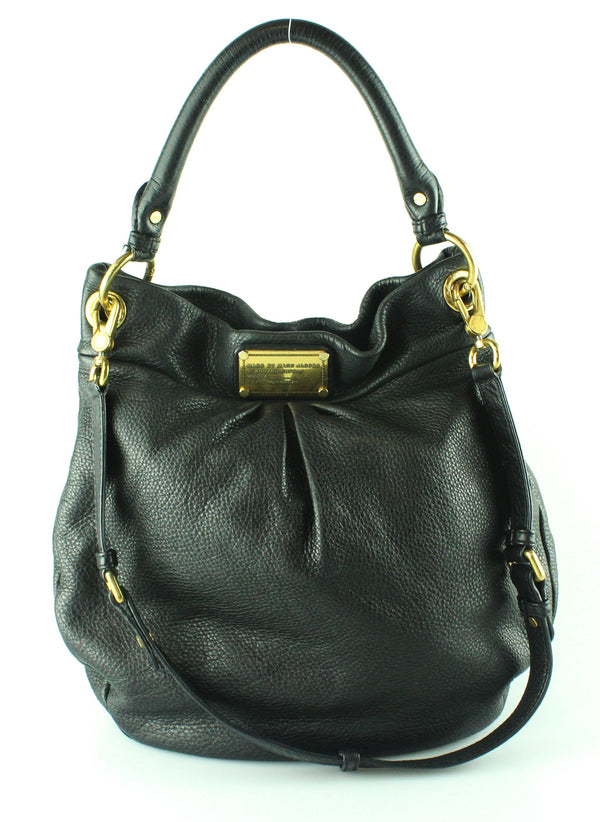 Marc By Marc Jacobs Black Leather Hilier Hobo GH (3)