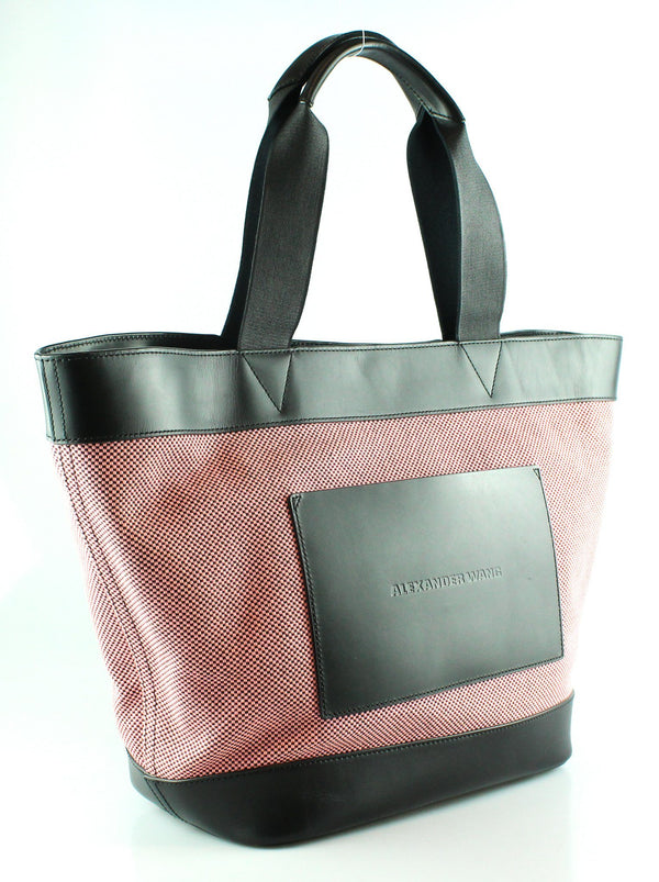 Alexander Wang Canvas/Leather Tote Pink/Black