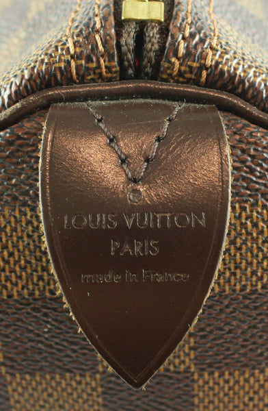 Louis Vuitton Speedy 35 Damier Ebene AA2151