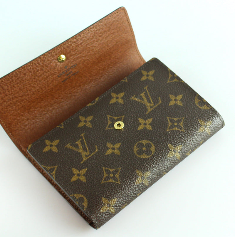 Louis Vuitton Monogram Tresor Wallet SP0035