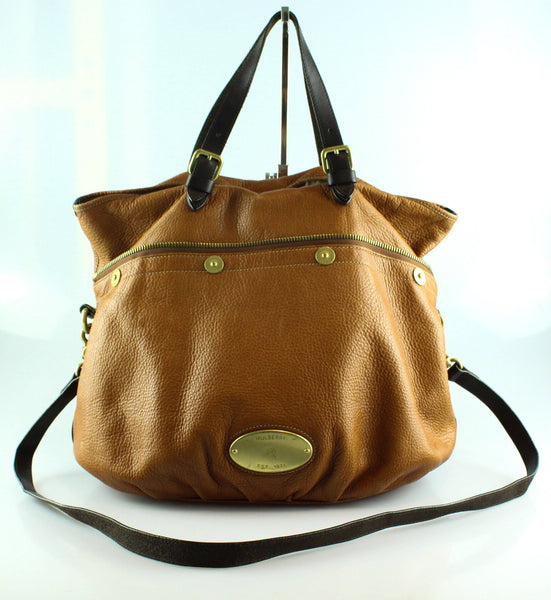 73375b76ca79 Mulberry Oak Spongy Convertible Mitzy Hobo – Designer Exchange Ltd