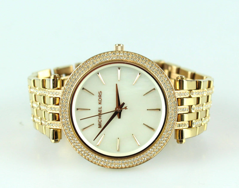 Michael Kors Rose Gold MK3220 Darci Glitz Watch