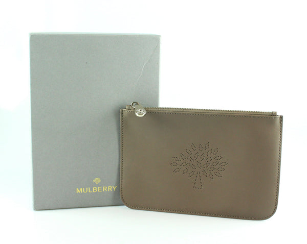 Mulberry Taupe Blossom Pochette