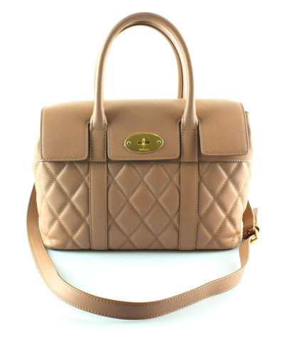 7b1ac0f42a6b Mulberry Rosewater Quilted Smooth Calfskin Small Bayswater Satchel (sb – Designer  Exchange Ltd