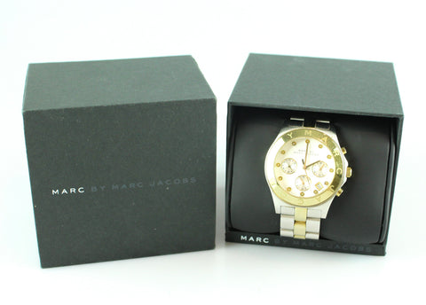 65a34f0053e3 Marc By Marc Jacobs Amy Two Tone Watch MB3177