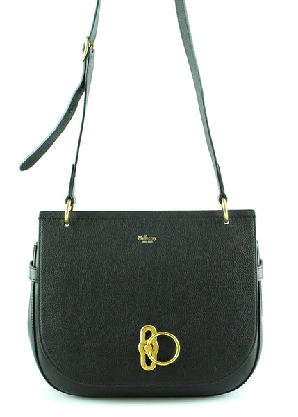 Mulberry Black Regular Amberley Satchel RRP €1150
