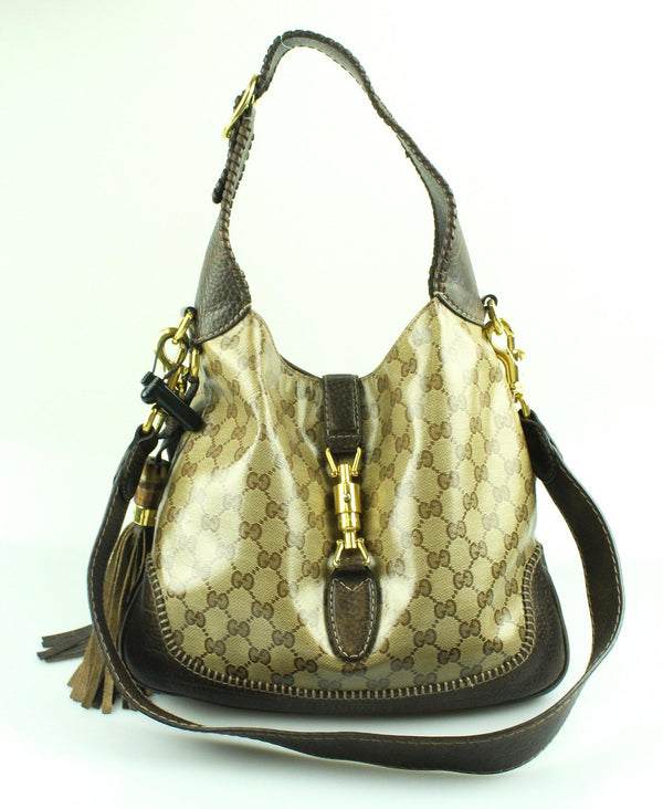 Gucci New Jackie GG Crystal Whipstitch