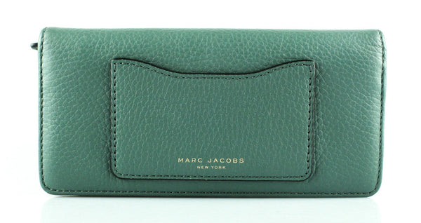 Marc Jacobs Dark Mint Recruit Open Face Wallet
